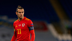 CARDIFF, WALES - Wednesday, November 18, 2020: Wales' captain Gareth Bale during the UEFA Nations League Group Stage League B Group 4 match between Wales and Finland at the Cardiff City Stadium. Wales won 3-1 and finished top of Group 4, winning promotion to League A. (Pic by David Rawcliffe/Propaganda)