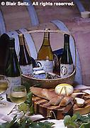 Wine Still Life, Wine Barrels, PA Wines, SE PA