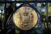 Hawaiian State Seal, RoyalMasoleum, Hawaii, USA<br />