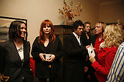 Sue Webster, Liliana Sanguino and Tim Noble, Polymorphous Perverse. Tim Noble and Sue Webster curated by James Putnam. the freud Museum. Maresfield Gdns. London. 7 November 2006. ONE TIME USE ONLY - DO NOT ARCHIVE  © Copyright Photograph by Dafydd Jones 66 Stockwell Park Rd. London SW9 0DA Tel 020 7733 0108 www.dafjones.com