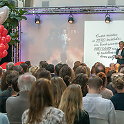 NLD/Amsterdam/20181102 - Koningin Máxima bezoekt Stichting 113 Zelfmoordpreventie, Online Platform