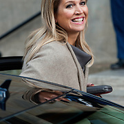 Uitreiking van de Prins Claus Prijs 2014 n het Koninklijk Paleis in Amsterdam.<br /> <br /> Presentation of the Prince Claus Award in 2014 n the Royal Palace in Amsterdam.<br /> <br /> op de foto / On the photo: <br />  Koningin Maxima / Queen Maxima