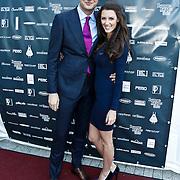 NLD/Amsterdam/20101010 - Premiere soloprogramma Lange Frans in concert, Lange Frans Frederiks en partner Danielle van Aalderen