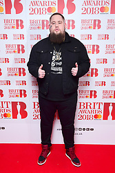 Rag n Bone Man attending the Brit Awards 2018 Nominations event held at ITV Studios on Southbank, London.