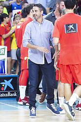 September 17, 2018 - Madrid, Spain - Juan Carlos Navarro during the FIBA Basketball World Cup Qualifier match Spain against Latvia at Wizink Center in Madrid, Spain. September 17, 2018. (Credit Image: © Coolmedia/NurPhoto/ZUMA Press)