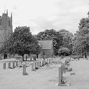 St. James Churchyard - Avebury, UK - Infrared Black & White