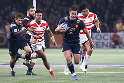 November 25, 2017 - Paris, France - Henry Chavency in action during the International test match between France and Japan at U Arena. (Credit Image: © Nicolas Briquet/SOPA via ZUMA Wire)