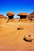 Rock formations, Goblin Valley State Park, Utah
