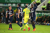 Joie Blaise MATUIDI - 03.05.2015 - Nantes / Paris Saint Germain - 35eme journee de Ligue 1<br />Photo : Vincent Michel / Icon Sport
