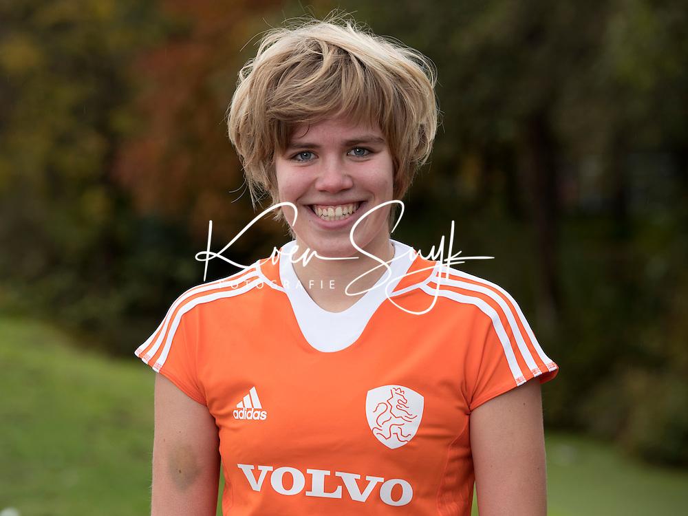 UTRECHT - IMME VAN DER HOEK. Jong Oranje hockey meisjes -21. COPYRIGHT KOEN SUYK