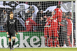 March 10, 2018 - Bridgeview, IL, U.S. - BRIDGEVIEW, IL - MARCH 10: The Chicago Fire celebrate a goal during a game between Sporting Kansas City and the Chicago Fire on March 10, 2018, at Toyota Park, in Bridgeview, IL. (Photo by Patrick Gorski/Icon Sportswire) (Credit Image: © Patrick Gorski/Icon SMI via ZUMA Press)
