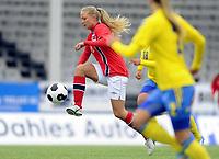 Fotball<br /> 07.05.22014<br /> WU19 Friendly / Privatlandskamp J19<br /> Norge v Sverige 1:0<br /> Norway v Sweden 1:0<br /> Foto: Morten Olsen, Digitalsport<br /> <br /> Lisa Fjellstad Naalsund (8) - Norge