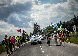 Riders during Stage 3 of 24th Tour of Slovenia 2017 / Tour de Slovenie from Celje to Rogla (167,7 km) cycling race on June 16, 2017 in Slovenia. Photo by Vid Ponikvar / Sportida