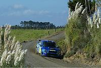 AUTO - WRC 2005 - NEW ZEALAND RALLY - AUCKLAND 10/04/2005 - PHOTO : DIGITALSPORT<br /> PETTER SOLBERG (NOR) / SUBARU IMPREZA WRC -