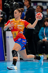 15-12-2019 JAP: Final Netherlands - Spain, Kumamoto<br /> The Netherlands beat Spain in the final and take historic gold in Park Dome at 24th IHF Women's Handball World Championship / Marta Lopez Herrero #2 of Spain