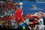 Cristiano Ronaldo of Portugal during the 2018 FIFA World Cup Russia, Group B football match between Portugal and Spain on June 15, 2018 at Fisht Stadium in Sotschi, Russia - Photo Tarso Sarraf / FramePhoto / ProSportsImages / DPPI