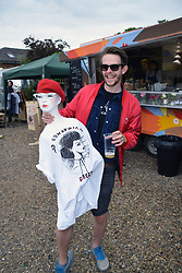 Redwell Brewery Art Car Boot Fair, annual festival showcasing local artists. Norwich June 2018
