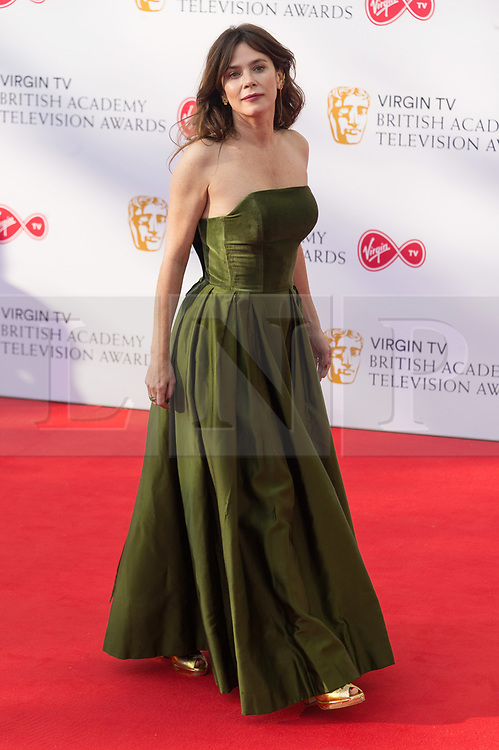 © Licensed to London News Pictures. 13/05/2018. London, UK. ANNA FRIEL arrives for the Virgin TV British Academy (BAFTA) Television Awards. Photo credit: Ray Tang/LNP