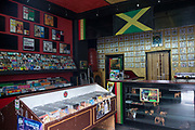 Jamaican music shop People's Sound Records on the 26th March 2018 in Notting Hill, West London in the United Kingdom.