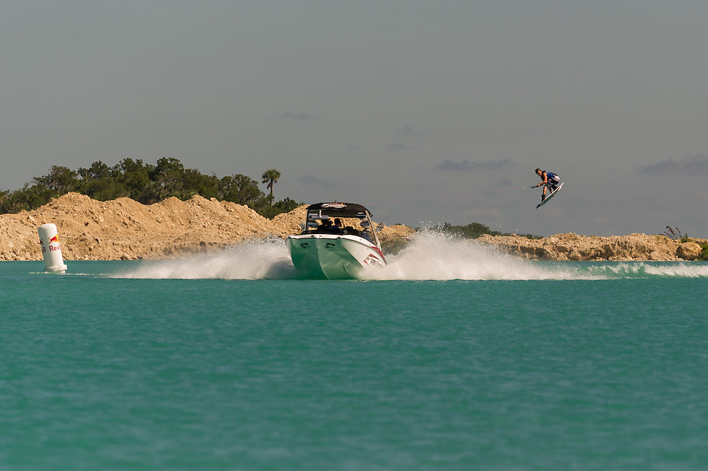 Daniel Powers performs at the Red Bull Wake Open in Tampa Bay, Florida, USA on July 7, 2012