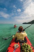 Thailand, sea kayaking around the Ko Surin islands