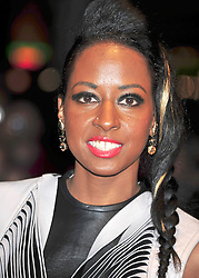 © Licensed to London News Pictures. 23/10/2011. London,England. Shystie attends the 55th British Film Festival in Leicester square London  Photo credit : ALAN ROXBOROUGH/LNP