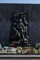 21 APR 2004, WARSAW/POLAND:<br /> Denkmal fuer das Warschauer Ghetto, Warschau, Polen<br /> IMAGE: 20040421-02-005<br /> KEYWORDS: Ghetto-Denkmal, Reise