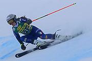 SOELDEN, AUSTRIA. OCTOBER 17 2020:  1st Women's Giant Slalom as part of the Alpine Ski World Cup in Solden on October 17, 2020; Run 1, Ilaria Ghisalberti (ITA) ( Pierre Teyssot/ESPA Images-Image of Sport)