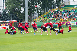 13.06.2012, Staedtisches Stadion Oporowska, Bresslau, POL, UEFA EURO 2012, Training, Tschechische Republik, im Bild CZECHY TRENING// during the during EURO 2012 Trainingssession of Czech Nationalteam, at the stadium Oporowski, Breslau, Poland on 2012/06/13. EXPA Pictures © 2012, PhotoCredit: EXPA/ Newspix/ Sebastian Borowski..***** ATTENTION - for AUT, SLO, CRO, SRB, SUI and SWE only *****
