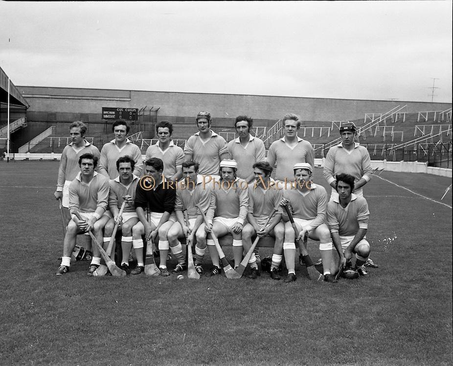 04/10/1970<br /> 10/04/1970<br /> 10 April 1970<br /> All-Ireland Intermediate Hurling Final: Antrim v Warwickshire at Croke Park, Dublin.<br /> The Warwickshire team.