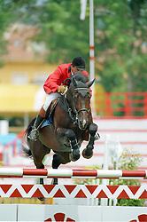 Philippaerts Ludo (BEL) - Darco<br /> European Championship Gijon 1993<br /> Photo © Dirk Caremans