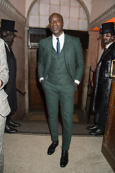 OZWALD BOATENG at the Veuve Clicquot Widow Series launch party hosted by Nick Knight and Jo Thornton MD Moet Hennessy UK held at The College, Central St.Martins, 12-42 Southampton Row, London on 29th October 2015.