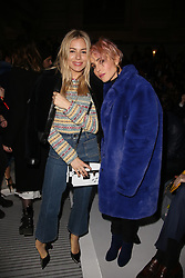 Sienna Miller and Noomi Rapace attending the Louis Vuitton show as part of the Paris Fashion Week Womenswear Fall/Winter 2018/2019 held at Le Louvre, in Paris, France, on march 05, 2018, France. Photo by Jerome Domine/ABACAPRESS.COM