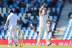 N. Wagner during day one of the second test match between South Africa and New Zealand held at SuperSport Park, Centurion in Gauteng, South Africa on the 27th August 2016<br /> <br /> Photo by:   Denver de Wee / Real Time Images