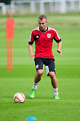 Bristol City's Liam Kelly - Photo mandatory by-line: Dougie Allward/JMP - Tel: Mobile: 07966 386802 27/06/2013 - SPORT - FOOTBALL - Bristol -  Bristol City - Pre Season Training - Npower League One