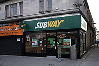 Subway southampton reopend for takeaways photo by Michael Palmer
