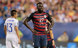 July 19, 2017 - Philadelphia, PA, USA - Philadelphia, PA - Wednesday July 19, 2017: Jozy Altidore during a 2017 Gold Cup match between the men's national teams of the United States (USA) and El Salvador (SLV) at Lincoln Financial Field. (Credit Image: © John Dorton/ISIPhotos via ZUMA Wire)