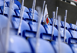 Flags are left on the seats of The Madejski Stadium, ahead of Reading's fixture with Fulham in the Sky Bet Championship Playoff Semi-Final - Mandatory by-line: Robbie Stephenson/JMP - 16/05/2017 - FOOTBALL - Madejski Stadium - Reading, England - Reading v Fulham - Sky Bet Championship Play-off Semi-Final 2nd Leg