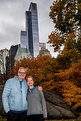 03-11-2018 USA: NYC Marathon We Run 2 Change Diabetes day 2, New York<br /> day before the marathon the usual photo shoot in Central Park / Roger, Jacqui