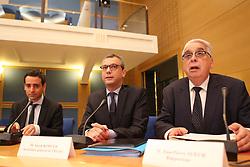 July 26, 2018 - Paris, France - Alexis Kohler (secretaire general de l Elysee) - Jean Pierre Sueur  (Credit Image: © Panoramic via ZUMA Press)