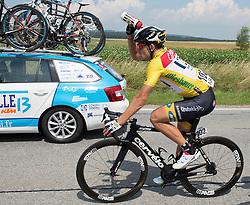 06.07.2015, Litschau, AUT, Österreich Radrundfahrt, 2. Etappe, Litschau nach Grieskirchen, im Bild Gerald Ciolek (GER, 1.Platz Gesamt) // Race leader Gerald Ciolek of Germany during the Tour of Austria, 2nd Stage, from Litschau to Grieskirchens, Litschau, Austria on 2015/07/06. EXPA Pictures © 2015, PhotoCredit: EXPA/ Reinhard Eisenbauer