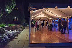 Yale Class of 1975 40th Reunion. Later Evening Dance with Diamond Reo in Brandford Quad.