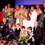 NLD/Haarlem/20091116 - Premiere The Full Monty, Cast The Full Monty