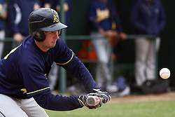 28 April 2012:  Kyle Lenihan during an NCAA division 3 Baseball game between the Augustana Vikings and the Illinois Wesleyan Titans in Jack Horenberger Stadium, Bloomington IL