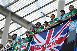 Northern Ireland and in the stands during the UEFA Euro 2020 Qualifying, Group C match at A. Le Coq Arena, Tallinn.