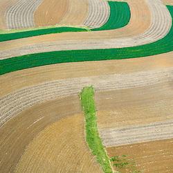 Aerial view of Farm in Pennsylvania