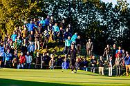 15-09-2017 - Foto van het KLM Open 2017 gespeeld op The Dutch in Spijk. Joost Luiten op vrijdag, ronde 2, hole 9