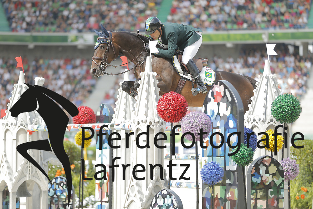 Pessoa, Rodrigo, Status<br /> Normandie - WEG 2014<br /> Springen - Finale III<br /> © www.sportfotos-lafrentz.de/ Stefan Lafrentz