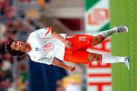 Fotball <br /> FIFA World Youth Championships 2005<br /> Nederland / Holland<br /> Foto: ProShots/Digitalsport<br /> <br /> nigeria - sør-korea, emmen, 15-06-2005<br /> <br /> chu young park van korea