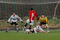 Photo: Steve Bond/Richard Lane Photography. Manchester United v Rosenborg. Friendly. 23/11/2008. Manucho attacking